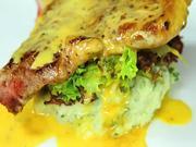 Šťavnatá vepřová pečene - recept na vepřovou pečeň s bylinkovou kaší