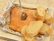Grilovaný losos - recept na lososa na grilu Graved Lax