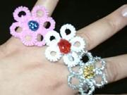 Jak vyrobit drátěné prstýnky ve tvaru květů