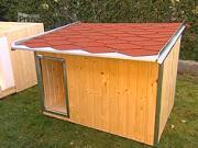 Psí bouda - jak vyrobit boudu pro psa
