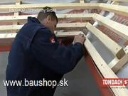 Připrava střešní plochy - jak připravit střešní plochu na pokládku střešní krytiny