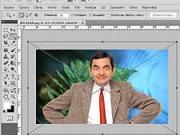 Photoshop CS5 CZ -Změna pozadi a provedení fotografie na obrazek - TUTORIAL N°2