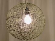 Lampa ze šňůrky - jak si vyrobit šňůrkovou lampu