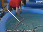 Bazénový vysavač - jak se smontuje a připojí manuální vysavač Star Vac