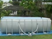 Stavba bazénu Tahiti - montáž bazénu Tahiti