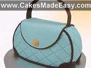 Dort jako kabelka - jak udělat dort  v tvaru kabelky