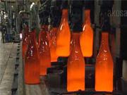 Lahve - Jak se vyrábějí lahve ze starého skla.