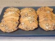 Mandlové sušenky - recept na mandlové suchary s oříšky