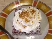 Makovo - kokosový zákusek - recept na makovo - kokosový koláč - Koláč líné ženy