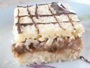 Ořechovo - meruňkový zákusek -  recept na rezy Suzette