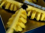Ananas jako pochoutka i ozdoba - jak krájet ananas