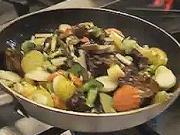 Kuřecí prsa se zeleninou - recept na marinované kuřecí prsa s Wok zeleninou