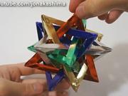 Vianočná hvězda - jak vyrobit vánoční hvězdu z papíru