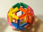 Flexi koule z papíru  - jak si vyrobit z papíru flexi kouli