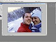 Retuš zimní fotografie ve Photoshopu