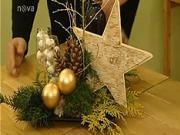 Vánoční dekorace - adventní dekorace