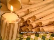 Vanilkové oblatky a trubičky - jak vyrobit vánoční vanilkové trubičky a oblátky