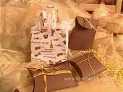 Dárkové taštičky - jak vyrobit vánoční dárkové tašky