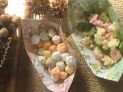 Košíček na bonbóny z papíru - Lodičky na bonbóny a jiné drobnosti