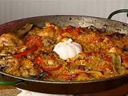 Paella Valenciana - recept na Paellu Valenciana