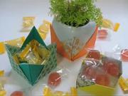 Krabička na bonbóny - jak poskládat origami krabičku na bonbóny