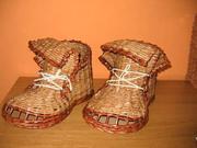 Papírové boty - jak udělat boty pletené z papíru - pletení z papíru