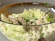 Zeleninový salát - recept na zeleninový salát s kuřecím masem