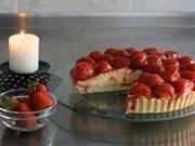 Jahodový koláč - recept na jahodový koláč