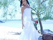 Bílé plážové šaty - jak si ušít bílé plážové šaty
