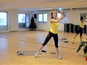 Cviky s míčem - cviky na zpevnění a formování postavy