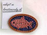 Mozaiková magnetka - jako vyrobit magnetku