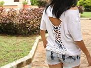 Předělávka trička - jak si předělat tričko