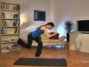 Cviky na zadek a stehna - Cviky na hubnutí 7