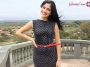 Retro šaty s puntíky - jak si ušít puntíkované šaty