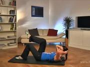 Cviky na formování břišních svalů a zad - cviky na hubnutí