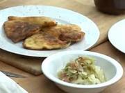 Slezské pirohy - recept na slezské pirohy a zelný salát