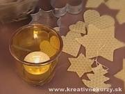 Ozdoby z včelích plastů - jak si vyrobit vánoční ozdoby ze včelých plastů a slámy