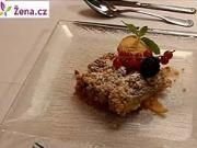 Ovocný koláč - recept na ovocný koláč s drobenkou