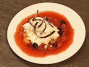 Ovocná omáčka - recept na ovocnou omáčku se zmrzlinou