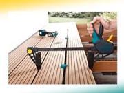 Dřevěná terasa - montáž dřevěné terasy Landsman-Wolfcraft