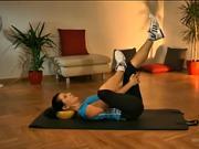 Cviky s overball - protažení celého těla