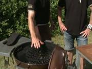 Rozpálení grilu a teplota grilování - grilování steaků