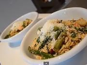 Chřestová rizoto - recept na jarní chřestové rizoto