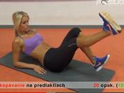 Cviky na břicho - Jak zhubnout z břicha - cviky pro ženy