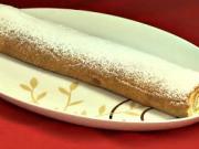 Pudinková roláda - recept na pudinkovou roládu se šlehačkou