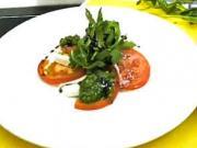 Salát Caprese a pesto - recept z Alcronu