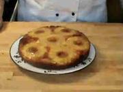 Ananasový koláč-recept na ananasový koláč ze šlehaného těsta