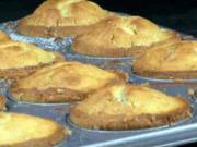 Vanilkové muffiny s malinami - recept na vanilkové muffiny