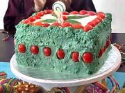 Dort na slano - recept na slaný dort