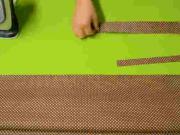 Nákupní taška - stříháme jednoduchou nákupní tašku (1/3)